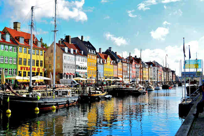 Copenhagen houses
